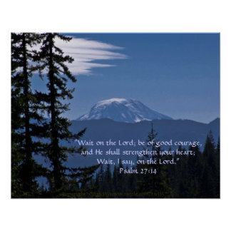Mt. Adams 2 w/Scripture Verse Poster