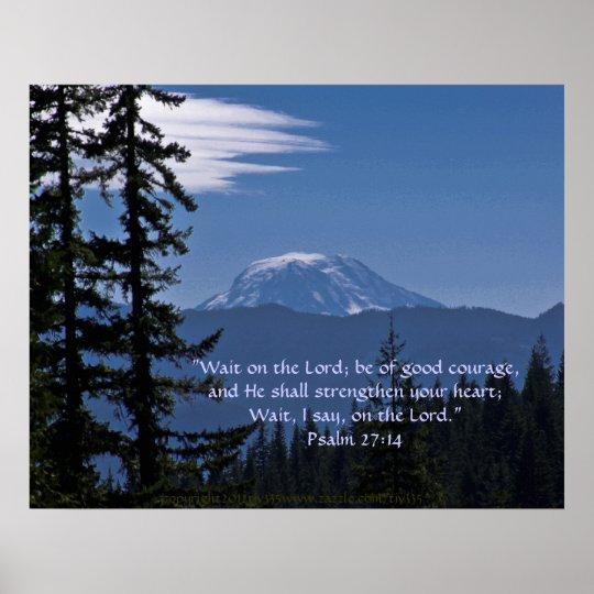 Mt. Adams 2 w/Scripture Verse Poster