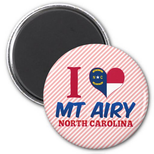 Mt Airy, North Carolina Refrigerator Magnet