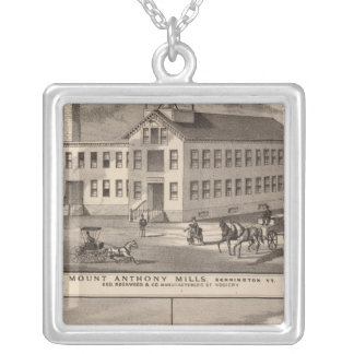 Mt. Anthony Mills Silver Plated Necklace