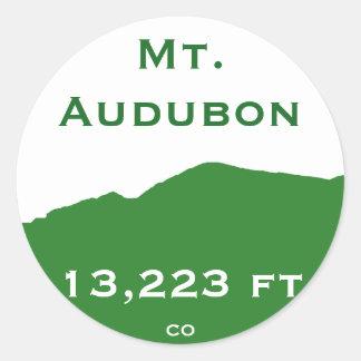 Mt. Audubon Sticker