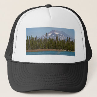 Mt Bachelor Oregon from Little Lava Lake Trucker Hat