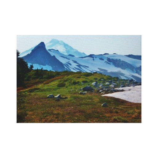 Mt.Baker Canvas Stretched Canvas Print