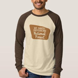 Mt. Baker-Snoqualmie National Forest (Sign) T-Shirt
