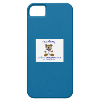MT Bear Student Medical Transcriptionist iPhone 5 Cover