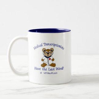 MT Bear Two-Tone Coffee Mug