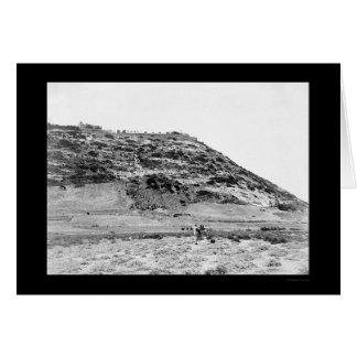 Mt. Carmel Palestine, and Camera Man 1902 Card