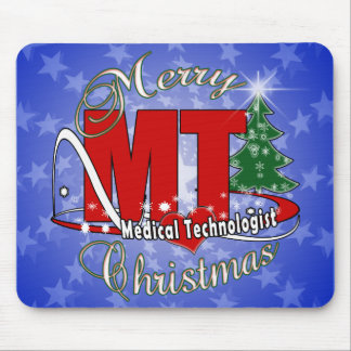 MT CHRISTMAS Medical Technologist  LAB Mouse Pad