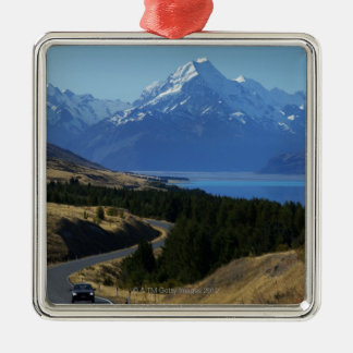 Mt. Cook, New Zealand Christmas Ornament