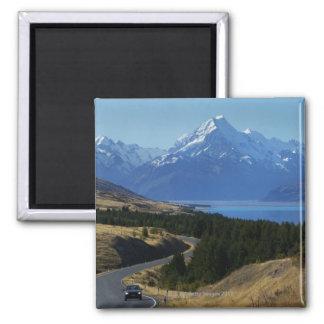 Mt. Cook, New Zealand Magnet