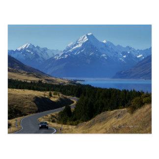 Mt. Cook, New Zealand Postcard