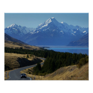 Mt. Cook, New Zealand Poster