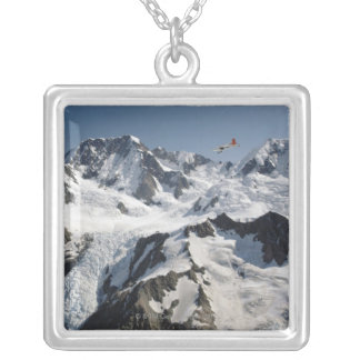 Mt Cook, New Zealand Silver Plated Necklace