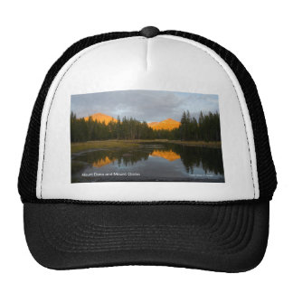 Mt Dana Mt Gibbs Yosemite California Products Trucker Hat