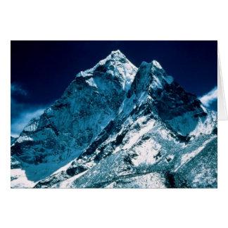 Mt. Everest Greeting Card