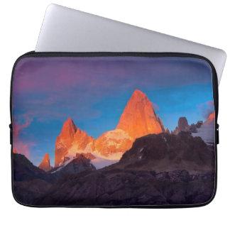 Mt Fitz Roy At Sunrise Laptop Sleeve