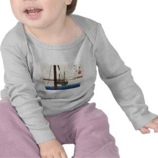Mt Fuji and Boats Japan Circa 1800 s Tshirt