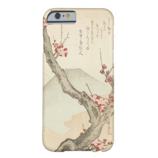 Mt. Fuji Behind a Blossoming Plum Tree Barely There iPhone 6 Case