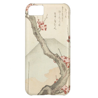 Mt. Fuji Behind a Blossoming Plum Tree iPhone 5C Case