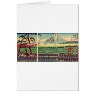 Mt Fuji circa 1860 s Card