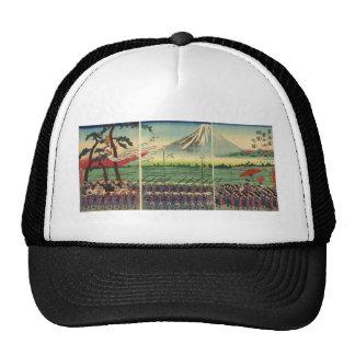 Mt Fuji circa 1860 s Trucker Hat