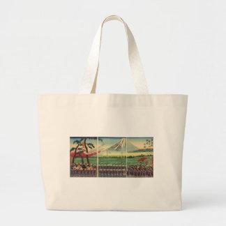 Mt. Fuji circa 1860's Canvas Bag