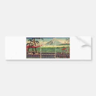 Mt. Fuji circa 1860's Bumper Sticker
