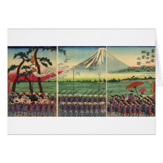 Mt. Fuji circa 1860's Card