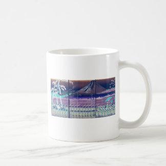 Mt. Fuji circa 1860's. Japan. Coffee Mugs