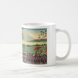 Mt. Fuji circa 1860's Coffee Mug