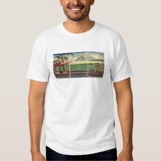 Mt. Fuji circa 1860's Tshirts