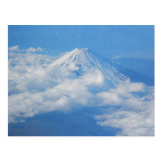 Mt. Fuji from Airplane, Photography Postcard