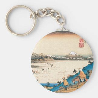 Mt. Fuji, Fuji-san. Japan. Circa 1800's. Key Chains