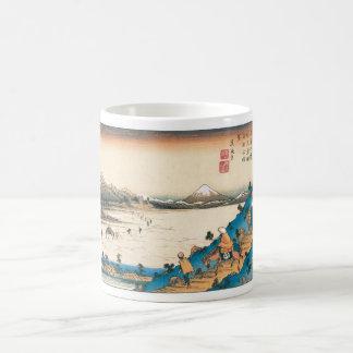 Mt. Fuji, Fuji-san. Japan. Circa 1800's. Coffee Mug