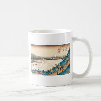 Mt. Fuji, Fuji-san. Japan. Circa 1800's. Mug