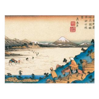 Mt. Fuji, Fuji-san. Japan. Circa 1800's. Postcard