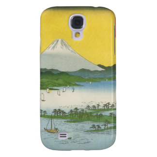 Mt. Fuji in Japan circa 1800's Samsung Galaxy S4 Case