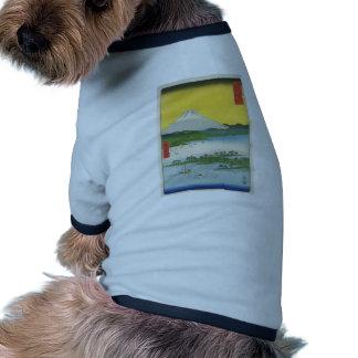 Mt. Fuji in Japan circa 1800's Doggie Shirt