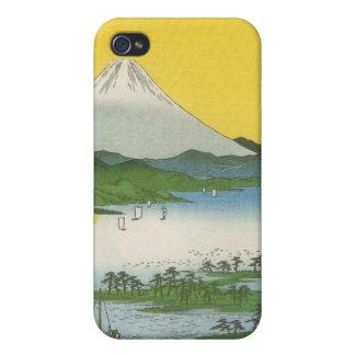 Mt. Fuji in Japan circa 1800's iPhone 4/4S Cover