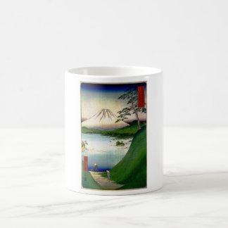 Mt. Fuji in Japan circa 1800's Mugs