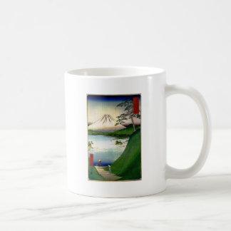 Mt. Fuji in Japan circa 1800's Mug
