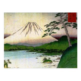 Mt. Fuji in Japan circa 1800's Postcard