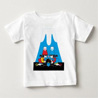 Mt. Fuji orogeny (Mount Fuji creating) T-shirts