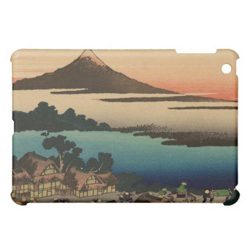Mt. Fuji Print iPad Mini Cover