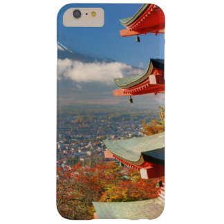 Mt. Fuji viewed from behind Chureito Pagoda Barely There iPhone 6 Plus Case