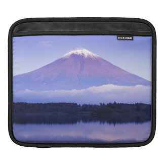 Mt. Fuji with Lenticular Cloud, Motosu Lake, iPad Sleeve