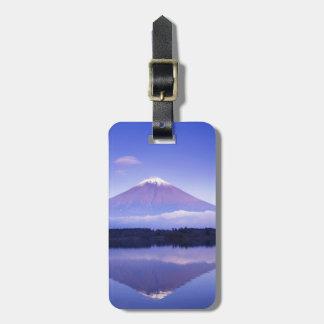 Mt. Fuji with Lenticular Cloud, Motosu Lake, Luggage Tag