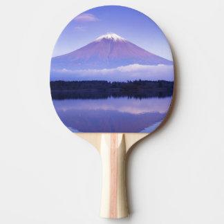 Mt. Fuji with Lenticular Cloud, Motosu Lake, Ping Pong Paddle