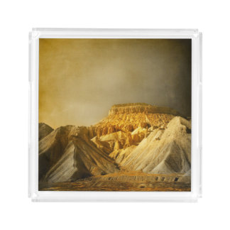Mt. Garfield Acrylic Tray