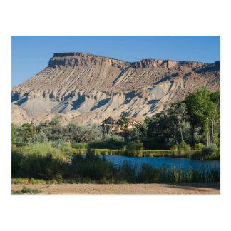 Mt. Garfield at Palisade, Colorado Postcard